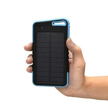 Silicone Solar Charger Travel Mobile Phone Charger OEM Solar Power Bank