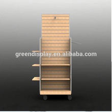 With quality warrantee fast supplier wooden display cabinet wooden display table