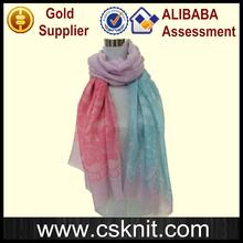 Multifunctional 2012 colorful fashion scarf fashion wholesale pashmina scarf with low price