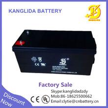 free maintenance 12v 200ah deep cycle battery solar, gel vrla battery manufucturer