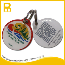 printing QR for pet ID, promotional gift with QR dog tags, No MOQ limited