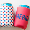 330ml Neoprene Beer Bottle Koozie Cooler Insulator Zipper Bottle Opener New