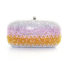 Luxury crystal small party womens purses and handbags