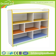 wooden drawer storage cabinet,kids wooden toy shelf ,nursery school furniture