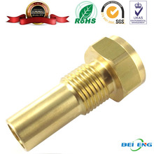 Shenzhen manufacture brass passivated CNC lathe machining turned part for household appliance