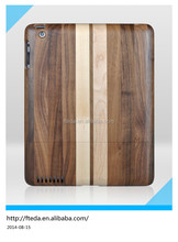 Tablet case natural real wood case for ipad mini , for ipad case mini air, for ipad mini case wood
