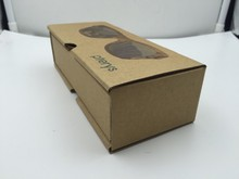 sunglasses paper case for bamboo&wooden sunglasses