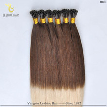 Hot!! New Products Brand Name Wholesale Double Drawn Remy ombre hair bonds