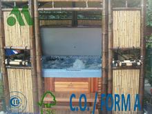 Hot Tub Bamboo Pavillion/hot tub gazebo/bamboo house for hot tub