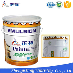 High quality interior decorative wall coating with water base gloss paint