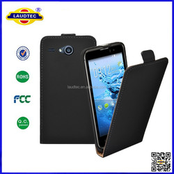 Fashionable Design Mobile Phone Cover , Wholesale PU Slim Flip Case For Sony E4G