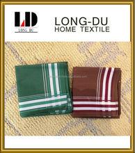 100% cotton men woven handkerchief