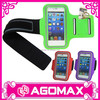 Top quality functional adjustable PU cellphone arm band
