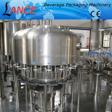automatic bottle filling machine price / bottle washing filling capping machine