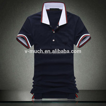 2015 ,Alibaba online shop, Hot Sell Custom polyester/cotton men's short sleeve polo t shirt