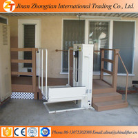 jinan zhongtian Hot sale hydraulic lifting a wheel chair