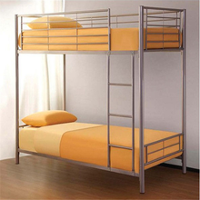 Metal tube with powder coating Material and Commercial Furniture General Use metal bunk bed