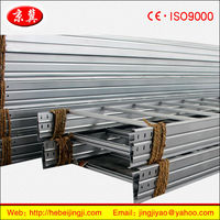 HDG Ladder cable tray,cable tray sizes (The manufacturer)