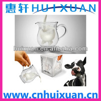 Alibaba express Creative double-layer Milk glass cup