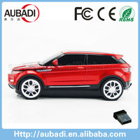 novelty car shape personalized wireless mouse for promotion gifts