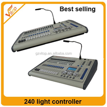 stage lighting cheap pilot 3000 DMX 1024 light controller/ pilot console