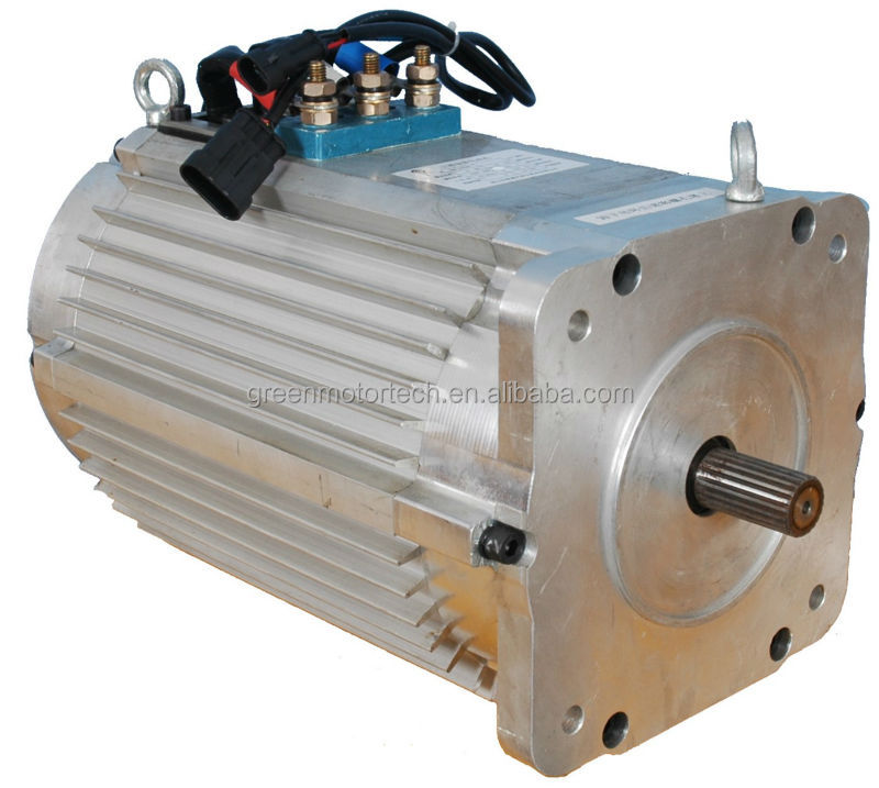 Brushless ac electric car motor 48v 60v 72v 96v rated Electric ac motors
