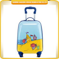 cute square shape kid's luggage / cartoon beautiful ant suitcase