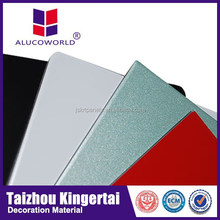 Alucoworld color coated aluminium sheet uses factory cost price