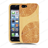 100% Real Wood Engrave Design Cell Phone Case For Iphone 5s Case.