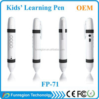 Hot selling holy quran pen reader with rechargeable battery smart talking pen