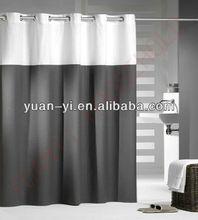 bath shower windows curtain black and white shower curtain