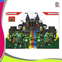 Top quality,reasonable price castle theme indoor playground,adult size playground for sale