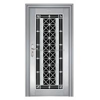 classic stainless steel security door