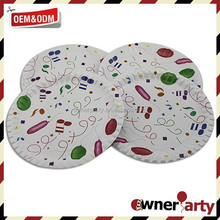 Simply Design Paper Plate Party Tableware