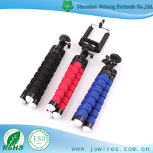 New Flexible Octopus Style Mini Tripod Sponge Tripod for phone stand gorillapod grip tight stand