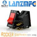 Kcd6-101-3pv rocker switch