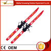 Child OEM red fiber gless cross country ski with binding