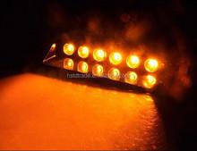 LED Visor Dashboard Emergency Strobe Light, LED Security Light