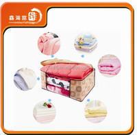 wholesale high grade zipper recycled large quilt storage bag