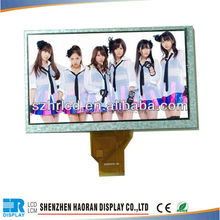 "7"" inch tft 800x480 LCD panel TFT LCD module display"