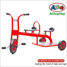 Double seat children tricycle model A AD-011