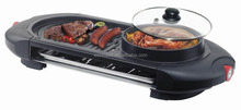 1800W 2 in 1 Non stick coating electric grill