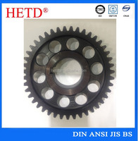OEM Hot Forging Transmission hardening Spur Gears with special holes