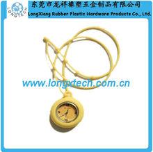 expedite silicon custom logo chronograph watch