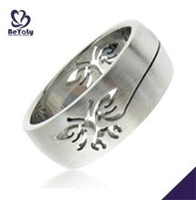 2015 cheap price jewelry 316l stainless steel foot finger ring