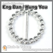 Taiwan High Quality Large Circle ABS Belt Buckle
