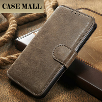 Luxury Retro PU Leather Flip Case For Samsung Galaxy S6 S5 S4 S3 Cellphone Wallet Stand Card Holder Cover For Galaxy S6