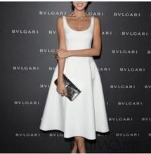 Bestdress party design clothes 2015 EUROPEAN OL STYLE WHITE DRESS EVENING DRESS BUBBLE DRESS