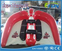 inflatable flying tube manta ray / manta ray flying tube boat / flying manta ray tube