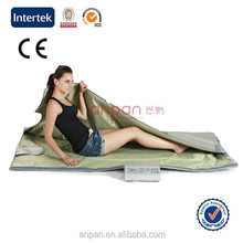 Fast Slimming Product 2015 Hot Selling Sauna Blanket 3 Zones Temprature Controller Heating With 36v Safe Output